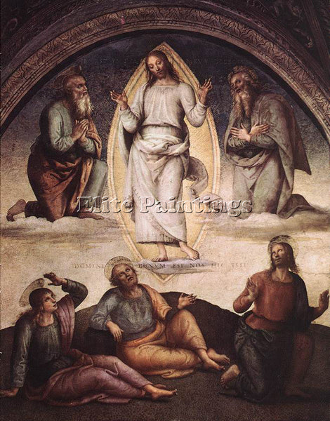 PIETRO PERUGINO THE TRANSFIGURATION 1498 ARTIST PAINTING REPRODUCTION HANDMADE