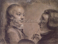 BRITISH PETERS WILLIAM MATTHEW ENGLISH 1741 1814 ARTIST PAINTING HANDMADE CANVAS