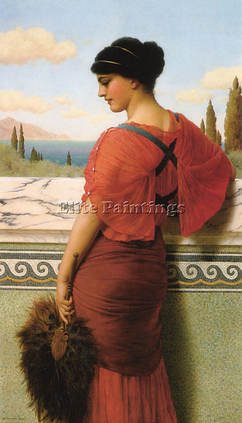 JOHN WILLIAM GODWARD PHYLEIS 1 ARTIST PAINTING REPRODUCTION HANDMADE OIL CANVAS