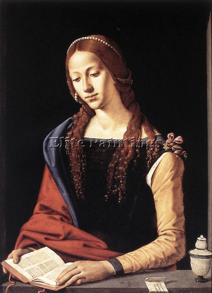 PIERO DI COSIMO ST MARY MAGDALENE 1490S ARTIST PAINTING REPRODUCTION HANDMADE