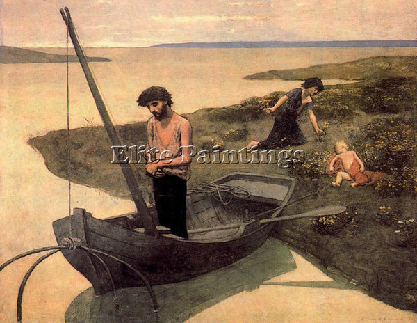 PIERRE CECILE PUVIS DE CHEVANNES PUVI10 ARTIST PAINTING REPRODUCTION HANDMADE