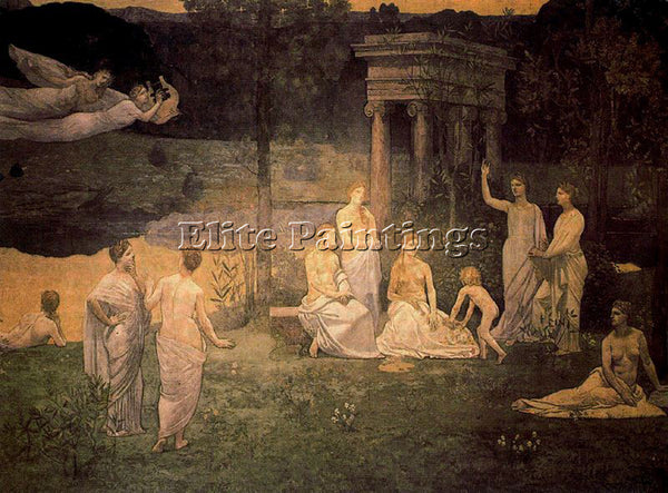 PIERRE CECILE PUVIS DE CHEVANNES PUVI11 ARTIST PAINTING REPRODUCTION HANDMADE