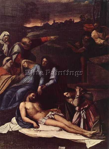 SEBASTIANO DEL PIOMBO DEPOSITION ARTIST PAINTING REPRODUCTION HANDMADE OIL REPRO