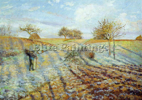 CAMILLE PISSARRO GELEE BLANCHE HOARFROST ARTIST PAINTING REPRODUCTION HANDMADE