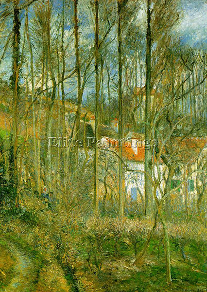 CAMILLE PISSARRO LA COTE DES BOEUFS THE HERMITAGE ARTIST PAINTING REPRODUCTION