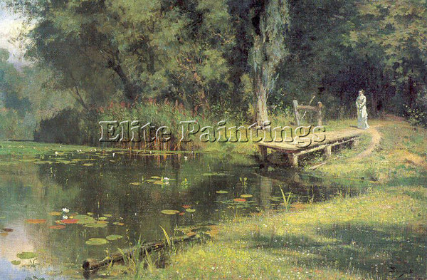 RUSSIAN POLENOV VASILY RUSSIAN 1844 1927 1 ARTIST PAINTING REPRODUCTION HANDMADE