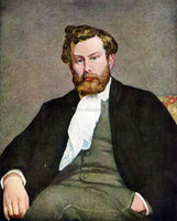 RENOIR PORTRAIT OF ALFRED SISLEY ARTIST PAINTING REPRODUCTION HANDMADE OIL REPRO