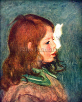 RENOIR PORTRAIT OF COCO ARTIST PAINTING REPRODUCTION HANDMADE CANVAS REPRO WALL