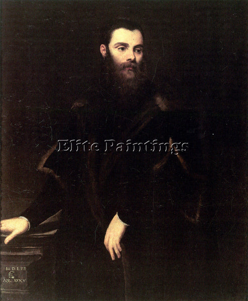 TINTORETTO PORTRAIT OF LORENZO SORANZO ARTIST PAINTING REPRODUCTION HANDMADE OIL