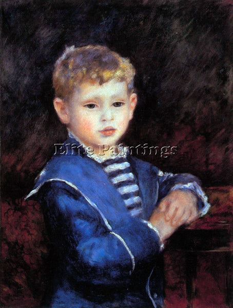 RENOIR PORTRAIT OF PAUL HAVILAND ARTIST PAINTING REPRODUCTION HANDMADE OIL REPRO