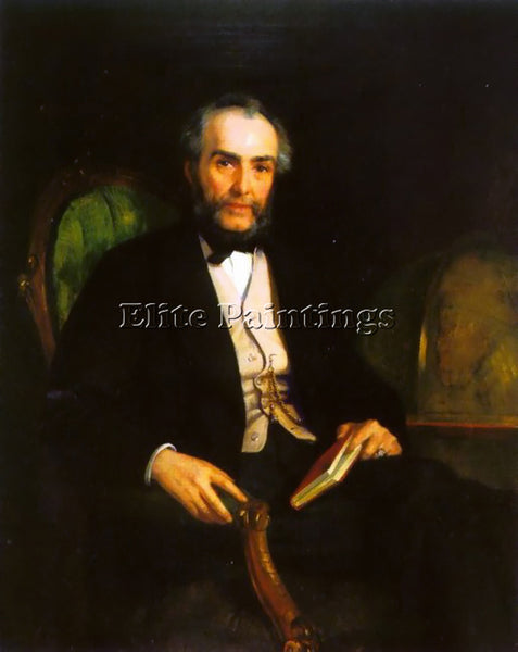 EDWIN LONGSDEN LONG PORTRAIT OF PETER DOUGLAS ESQUIRE ARTIST PAINTING HANDMADE