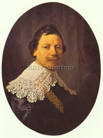 REMBRANDT PORTRAIT OF PHILIPS LUKASZ ARTIST PAINTING REPRODUCTION HANDMADE OIL
