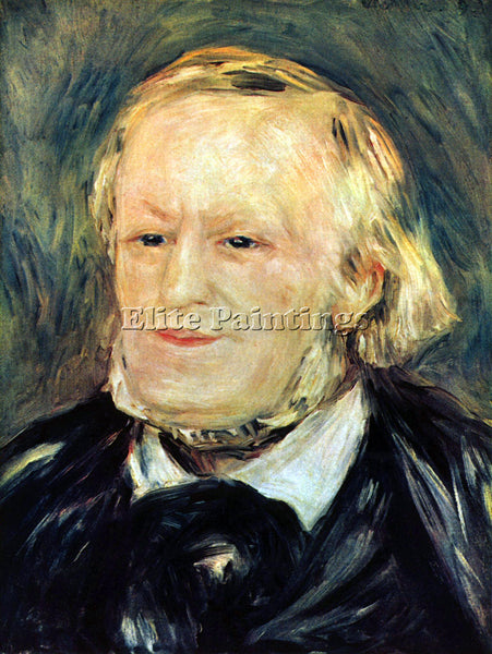 RENOIR PORTRAIT OF RICHARD WAGNER ARTIST PAINTING REPRODUCTION HANDMADE OIL DECO