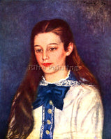 RENOIR PORTRAIT OF THERESE BERARD ARTIST PAINTING REPRODUCTION HANDMADE OIL DECO