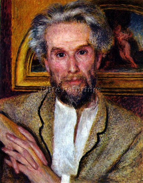 RENOIR PORTRAIT OF VICTOR CHOCQUET ARTIST PAINTING REPRODUCTION HANDMADE OIL ART