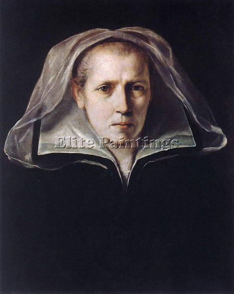 GUIDO RENI PORTRAIT OF THE ARTISTS MOTHER ARTIST PAINTING REPRODUCTION HANDMADE