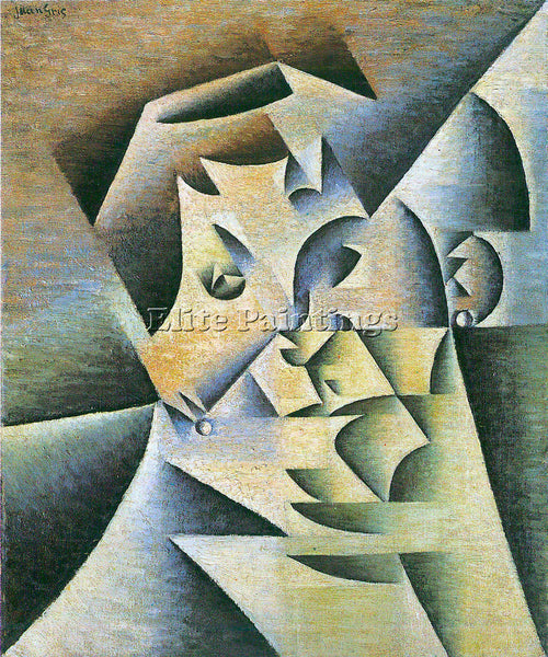 JUAN GRIS PORTRAIT OF THE MOTHER OF THE ARTIST ARTIST PAINTING REPRODUCTION OIL