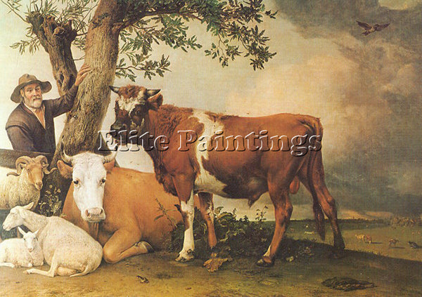 DUTCH POTTER PAULUS DUTCH 1625 54 2 ARTIST PAINTING REPRODUCTION HANDMADE OIL