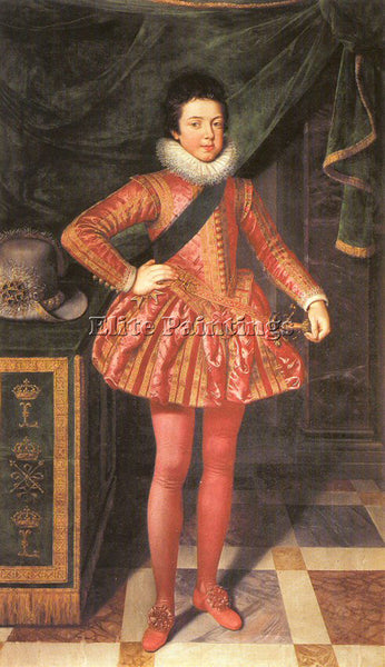FLEMISH POURBUS FRANS THE YOUNGER FLEMISH 1569 1622 22 ARTIST PAINTING HANDMADE