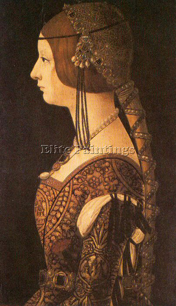 DUTCH PREDIS AMBROGIO DE ITALIAN 1455 1508 ARTIST PAINTING REPRODUCTION HANDMADE