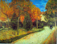 VAN GOGH PUBLIC PARK ARTIST PAINTING REPRODUCTION HANDMADE OIL CANVAS REPRO WALL