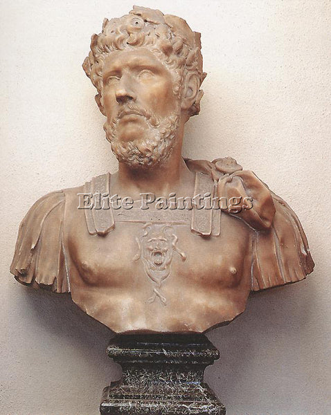 PIERRE PUGET BUST OF MARCUS AURELIUS ARTIST PAINTING REPRODUCTION HANDMADE OIL