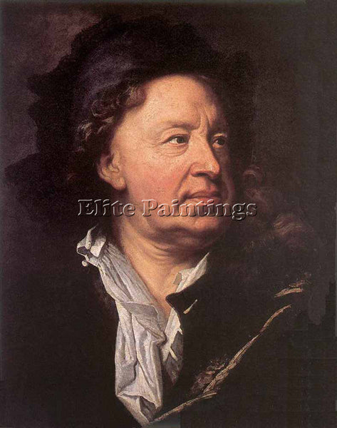 HYACINTHE RIGAUD EVERHARD JABACH ARTIST PAINTING REPRODUCTION HANDMADE OIL REPRO