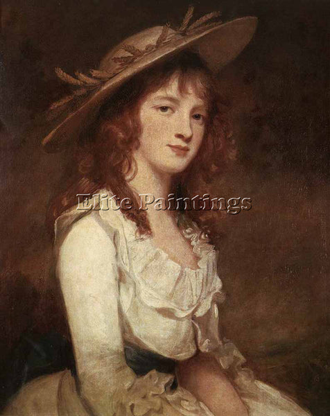 GEORGE ROMNEY ROMBOUTS THEODOR MISS CONSTABLE ARTIST PAINTING REPRODUCTION OIL