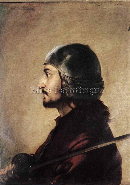 SALVATOR ROSA WARRIOR ARTIST PAINTING REPRODUCTION HANDMADE OIL CANVAS REPRO ART