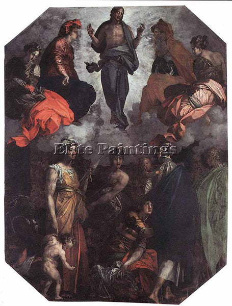 ROSSO FIORENTINO RISEN CHRIST ARTIST PAINTING REPRODUCTION HANDMADE CANVAS REPRO