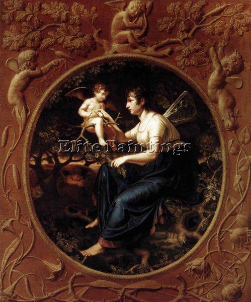 PHILIPP OTTO RUNGE THE LESSON OF THE NIGHTINGALE ARTIST PAINTING HANDMADE CANVAS