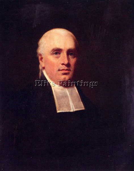 SIR HENRY RAEBURN RAEBURN HENRY PORTRAIT OF THE REV WIILAIM PAUL ARTIST PAINTING