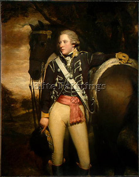 SIR HENRY RAEBURN CAPTAIN PATRICK MILLER ARTIST PAINTING REPRODUCTION HANDMADE