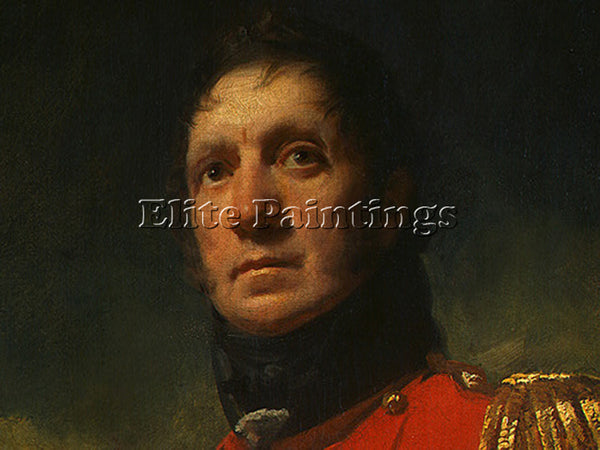 SIR HENRY RAEBURN COLONEL FRANCIS JAMES SCOTT DT1 ARTIST PAINTING REPRODUCTION