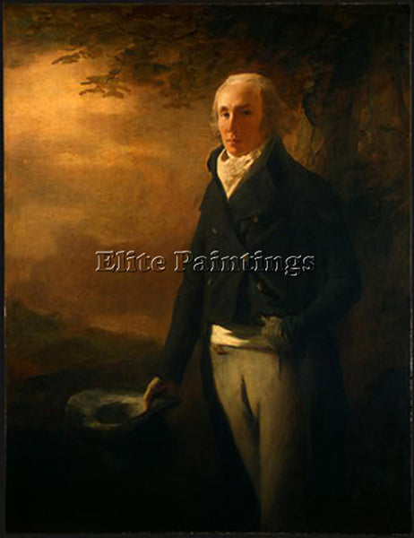 SIR HENRY RAEBURN DAVID ANDERSON 1790 ARTIST PAINTING REPRODUCTION HANDMADE OIL