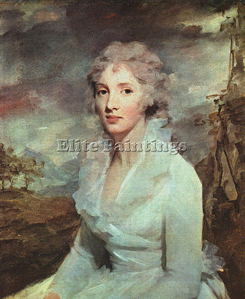 SIR HENRY RAEBURN MISS ELEANOR URQUHART ARTIST PAINTING REPRODUCTION HANDMADE