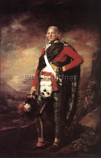 SIR HENRY RAEBURN PORTRAIT OF SIR JOHN SINCLAIR ARTIST PAINTING REPRODUCTION OIL