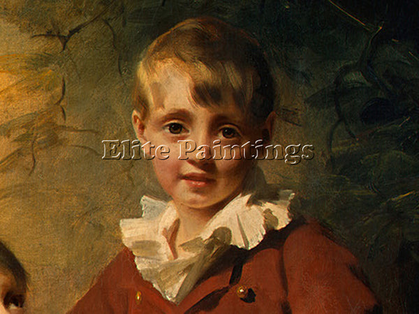 SIR HENRY RAEBURN THE BINNING CHILDREN DT1 ARTIST PAINTING REPRODUCTION HANDMADE