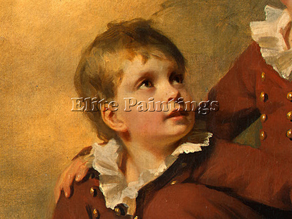 SIR HENRY RAEBURN THE BINNING CHILDREN DT2 ARTIST PAINTING REPRODUCTION HANDMADE