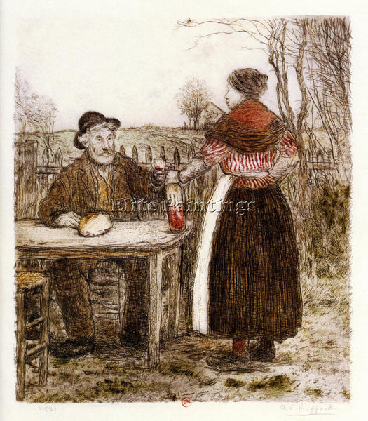 JEAN FRANCOIS RAFFAELLI A TOAST TO GOOD TIMES ARTIST PAINTING REPRODUCTION OIL