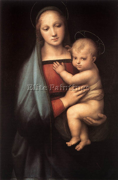 RAFFAELLO RAPHAEL THE GRANDUCA MADONNA ARTIST PAINTING REPRODUCTION HANDMADE OIL