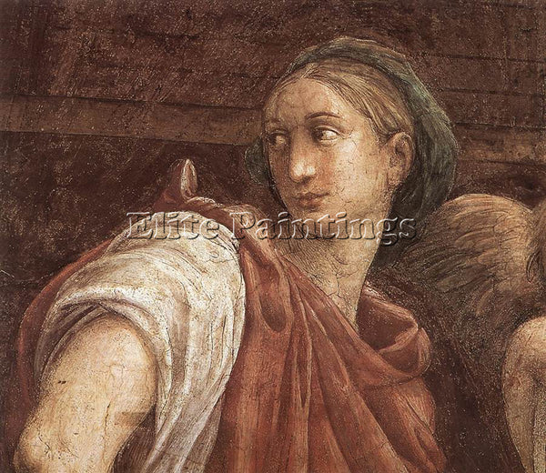 RAPHAEL THE SIBYLS DETAIL1 ARTIST PAINTING REPRODUCTION HANDMADE OIL CANVAS DECO