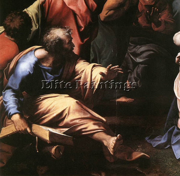 RAPHAEL THE TRANSFIGURATION DETAIL1 ARTIST PAINTING REPRODUCTION HANDMADE OIL