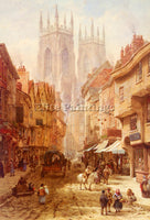 BRITISH RAYNER LOUISE OXFORD ARTIST PAINTING REPRODUCTION HANDMADE CANVAS REPRO