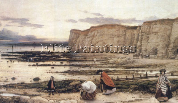 WILLIAM DYCE RECOLLECTION OF PEGWELL BAY ARTIST PAINTING REPRODUCTION HANDMADE