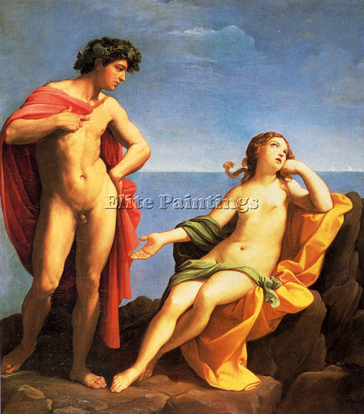 GUIDO RENI BACCHUS AND ARIADNE 1 ARTIST PAINTING REPRODUCTION HANDMADE OIL REPRO