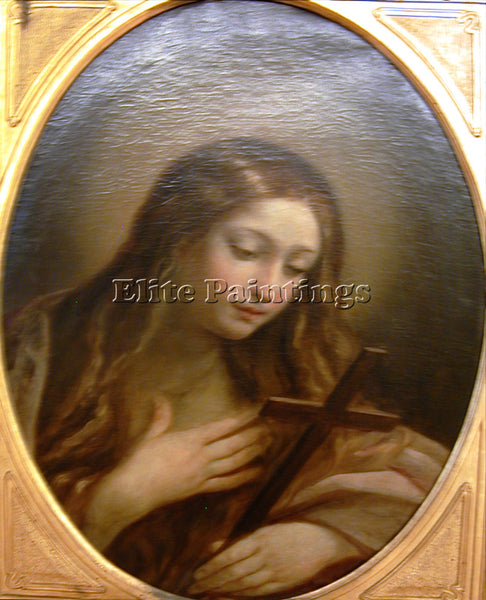 GUIDO RENI MARY MAGDALEN ARTIST PAINTING REPRODUCTION HANDMADE CANVAS REPRO WALL