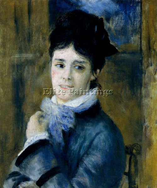 PIERRE AUGUSTE RENOIR MADAME CLAUDE MONET 1872 ARTIST PAINTING REPRODUCTION OIL
