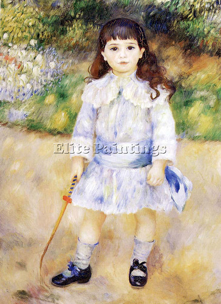 PIERRE AUGUSTE RENOIR CHILD WITH A WHIP ARTIST PAINTING REPRODUCTION HANDMADE