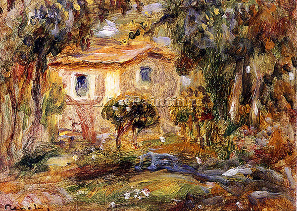 PIERRE AUGUSTE RENOIR LANDSCAPE ARTIST PAINTING REPRODUCTION HANDMADE OIL CANVAS